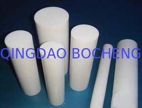 China Molded PTFE Teflon Rod , 3000mm Length PTFE Rod / Teflon Rods For Chemical supplier