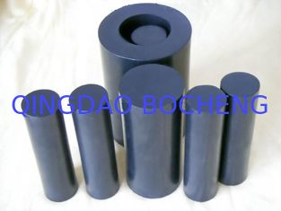China 100mm Width Black  Rods / PTFE Rod For Chemical , Self Lubricating supplier