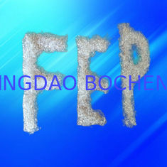China Semitransparent Pellet Fluoropolymer Resin / FEP Resin Molding Grade For Chemical Industry supplier