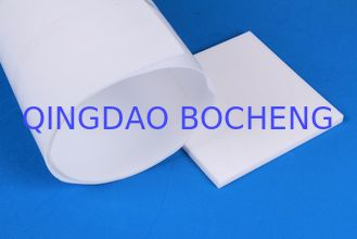 China Skived PTFE Teflon Sheet / White Teflon Sheet Material 50mm Thickness supplier