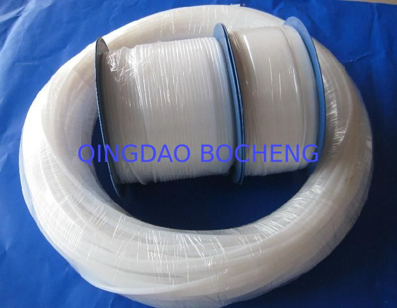 Natural White Pure Extruded PTFE Teflon Tube For Wire And Cable Jacket