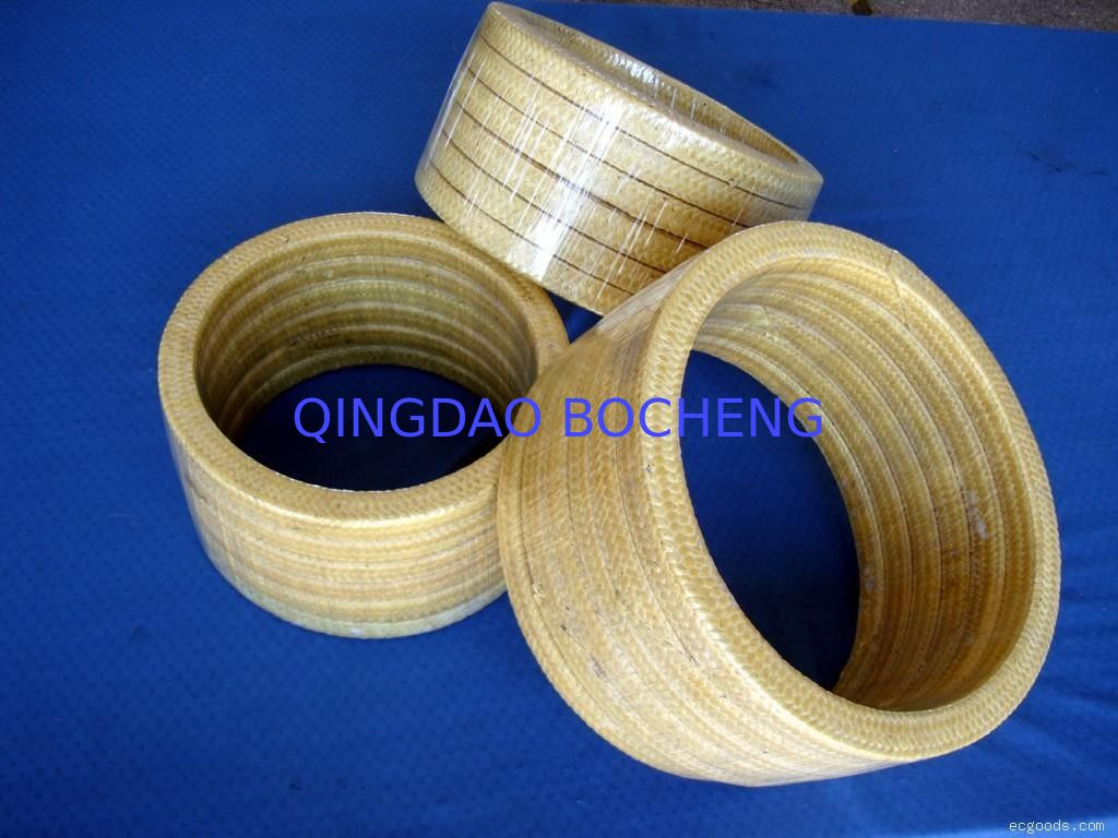 High Resilience Kevlar Gland Packing Low Cold Flow