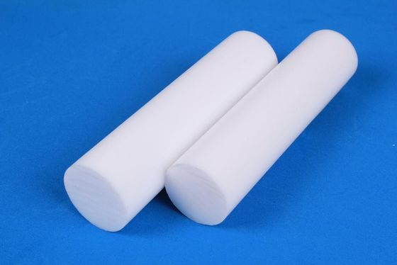 China Extruded PTFE Teflon Rod / Pure White PTFE Rod For Mechanical, High Temperature Resistance distributor