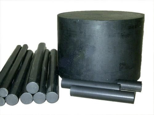 China 500mm Black Filled PTFE  Rod / PTFE Rod /  Rod For Sealing distributor