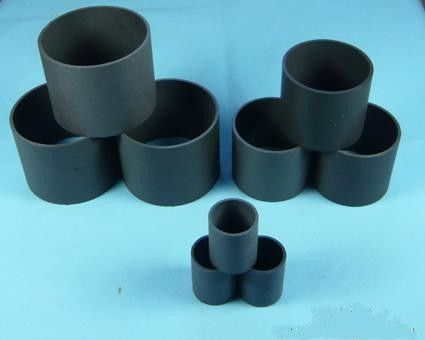 China Black PTFE Teflon Tubing / PTFE Teflon Material For Heat Exchanger distributor