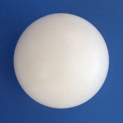 China Anti-Corrosion PTFE Balls / White PTFE Material For Sealing Parts distributor