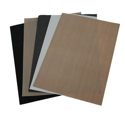 China Brown PTFE Coated Fiberglass Cloth Oven Liner Sheets Heat-resistance distributor