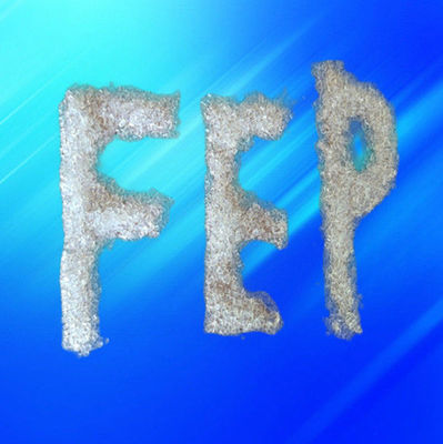 China Semitransparent Pellet Fluoropolymer Resin / FEP Resin Molding Grade For Chemical Industry distributor