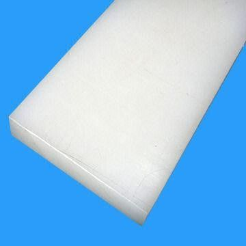 China Low Water Absorption PVDF Sheet / Polyvinylidene Fluoride For Laboratory , Easily Machined distributor