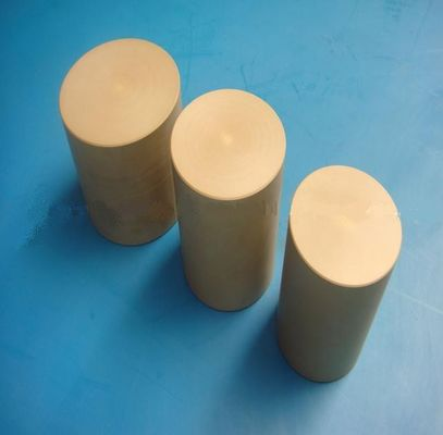 China Plastic Khaki PEEK Rods Stock Heat Resistance For Pump Housings distributor
