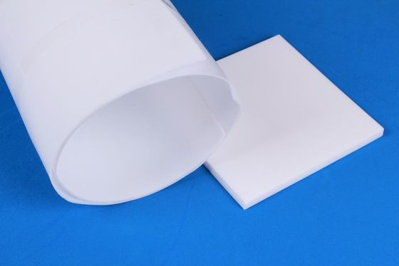 China Skived PTFE Teflon Sheet / White Teflon Sheet Material 50mm Thickness distributor