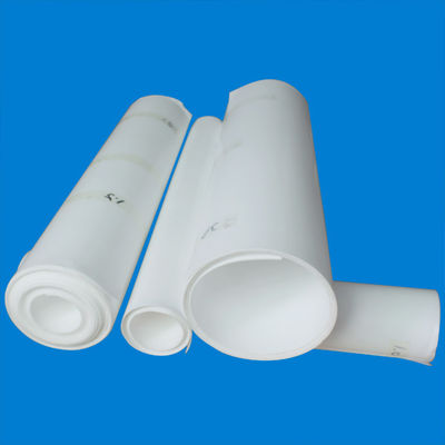 China White Soft Skived PTFE Sheet Isolation For Electrical Instrument distributor