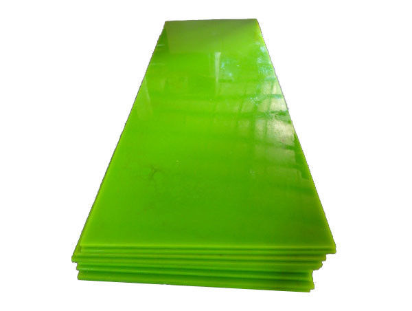 Solvent Resistance PU Sheets PU Scraper Blades For Mixing Machine And Conveyor Belt